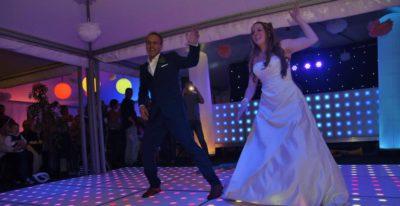 Openingsdans bruiloft in Eindhoven