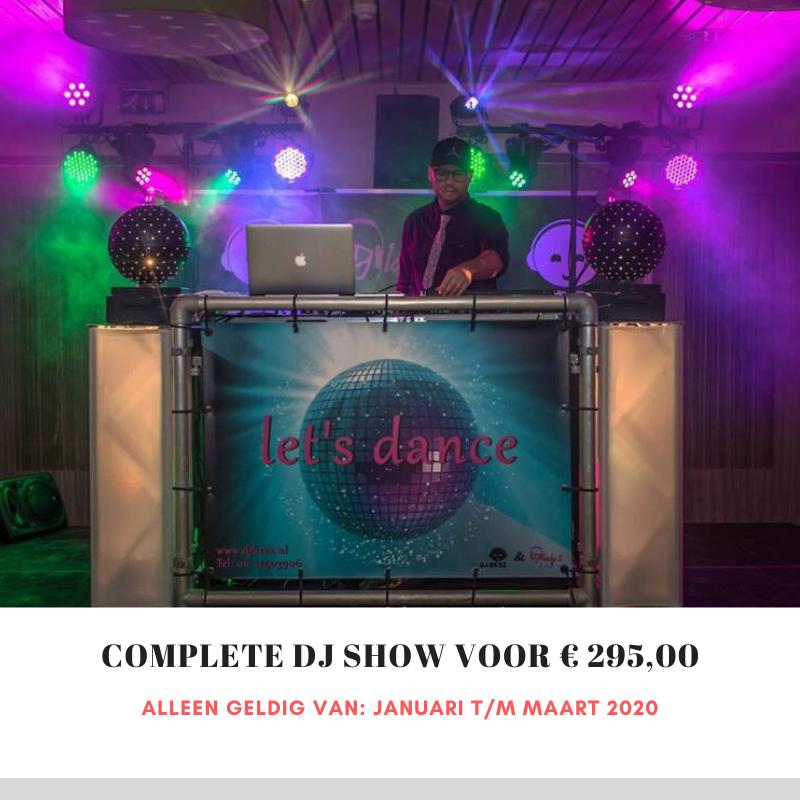 DJ show winteraanbieding