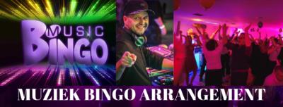 Muziek bingo in combinatie met een themafeest