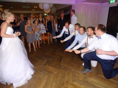 Bruiloft interacties