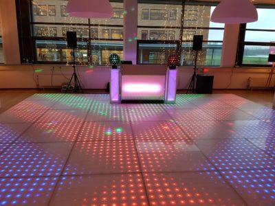 DJ Nijmegen inclusief een discovloer