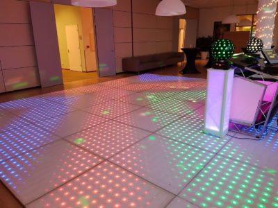 100 pixels LED dansvloer