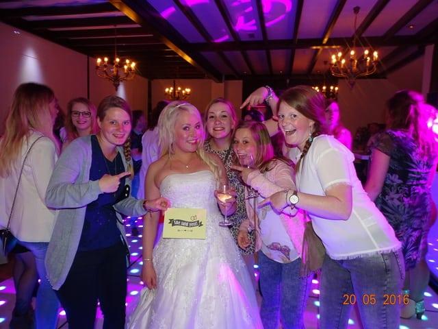 Foto bruidspaarSandra en Bjorn
