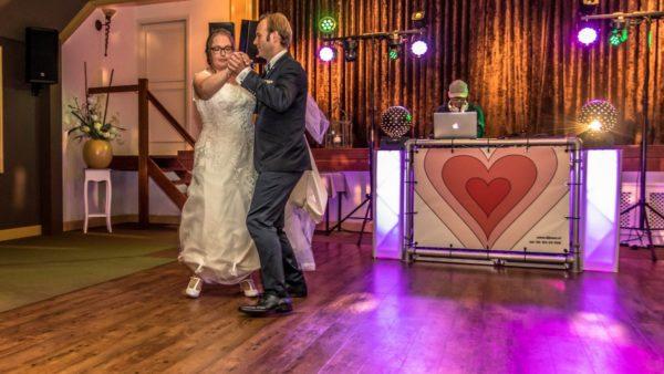 Bruiloft in Leek