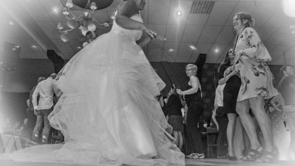 Foto bruidspaar Rob en Kimberley