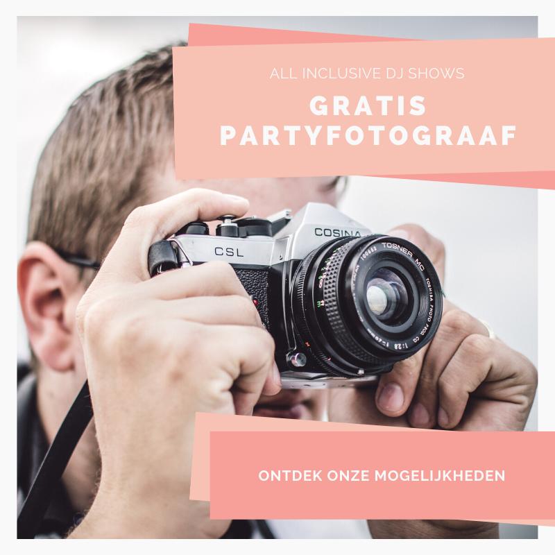 kosteloos een partyfotograaf