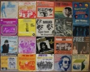Een feest met vinyl en cd singles