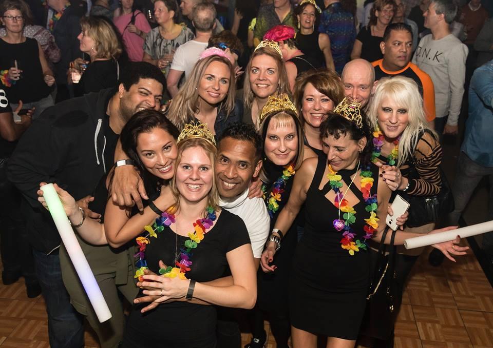 foto seventies party