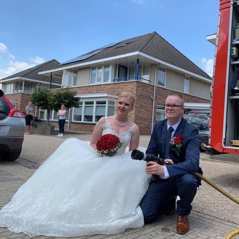 Foto bruidspaar