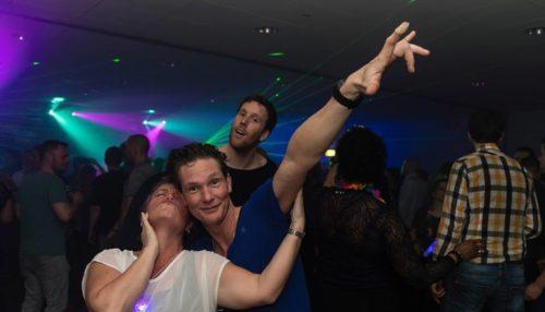 Foto feest van de gasten
