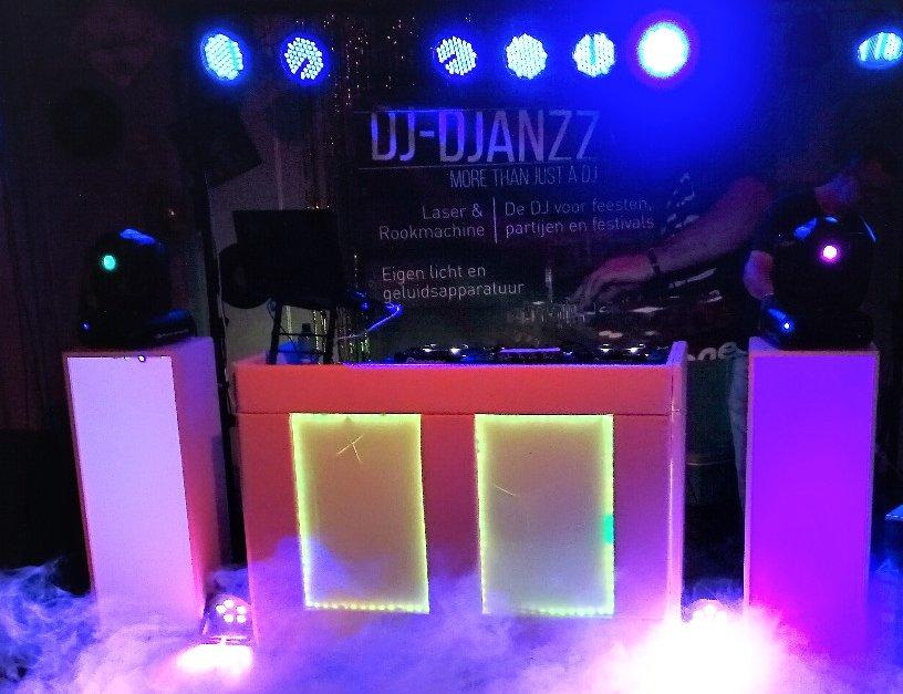 DJ show voor een feest